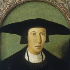 Retrato de caballero joven