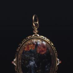 Medallón relicario
