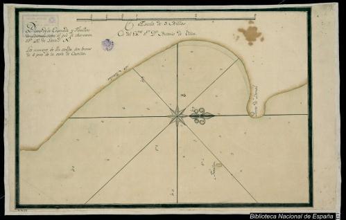 Plano de la Ensenada y Farallon de Bernal