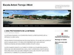 Escola Antoni Torroja i Miret