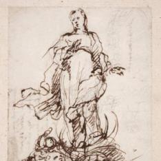 La Inmaculada / Fragmento de carta