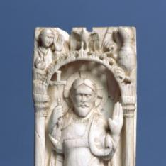 Placa con Cristo Triunfante
