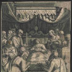 La dormición de la Virgen
