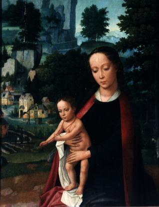 La Virgen del bello paisaje
