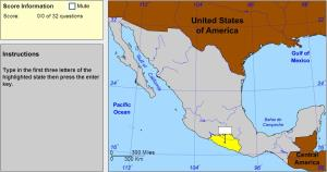 States of Mexico. Expert. Sheppard Software