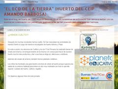 Huerto del CEIP Armando Barbosa