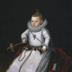 La infanta Margarita Francisca, hija de Felipe III