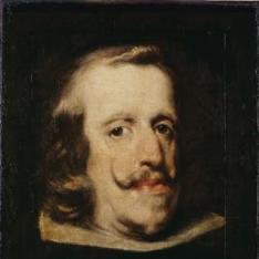 Retrato de Felipe IV (fragmento)