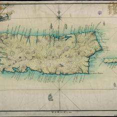 Mapa de la Isla de Pto. Rico