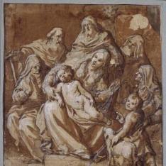Sagrada Familia y otros santos