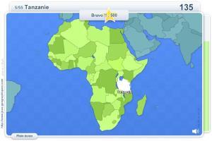 Pays d'Afrique. Jeux géographiques