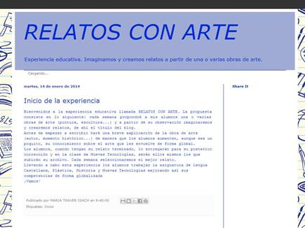 RELATOS CON ARTE