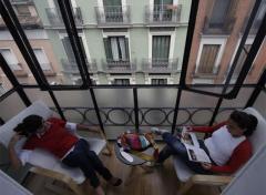 Madrid, bienvenidos al hostal