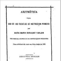 Aritmética para uso de las escuelas de instrucción primaria