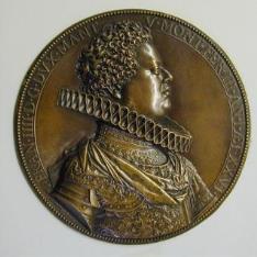 Medalla de Francisco IV, duque de Mantua y de Montferrato