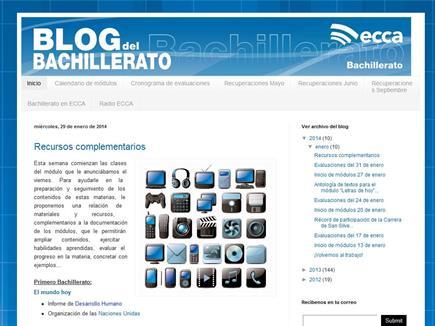 El Blog del Bachillerato de Radio ECCA