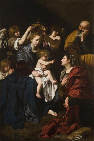 Sagrada Familia y Santa Catalina