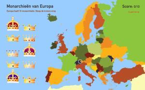 Monarchieën van Europa. Toporopa