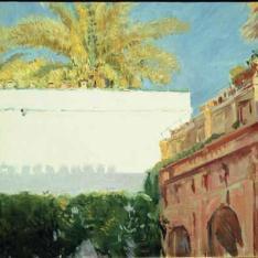 Patio del Rey D. Pedro, Alcazar de Sevilla