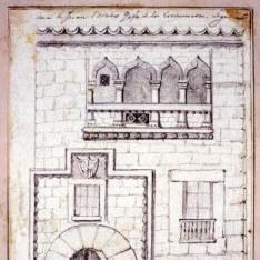 Fachada de la Casa del siglo XV, Segovia