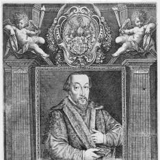 Retrato de Jacobus Richeman, Obispo de Constanza