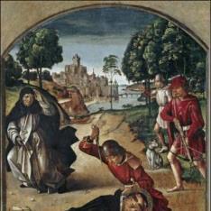 La muerte de San Pedro Mártir
