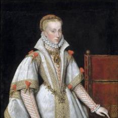 La reina Ana de Austria, cuarta esposa de Felipe II