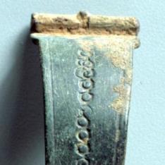 Fíbula de arco romana