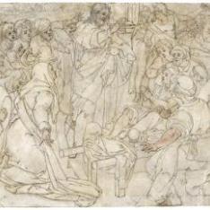 Cristo curando al hijo de la viuda de Naím