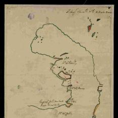 Plano de la bahía de San Francisco al NO. del cabo de Hornos