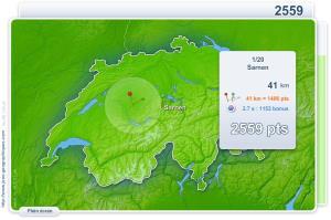 Villes de Suisse. Jeux géographiques