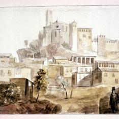 Vista de Alquézar, Huesca