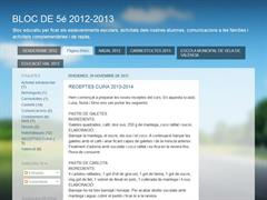 BLOC DE 5é 2012-2013