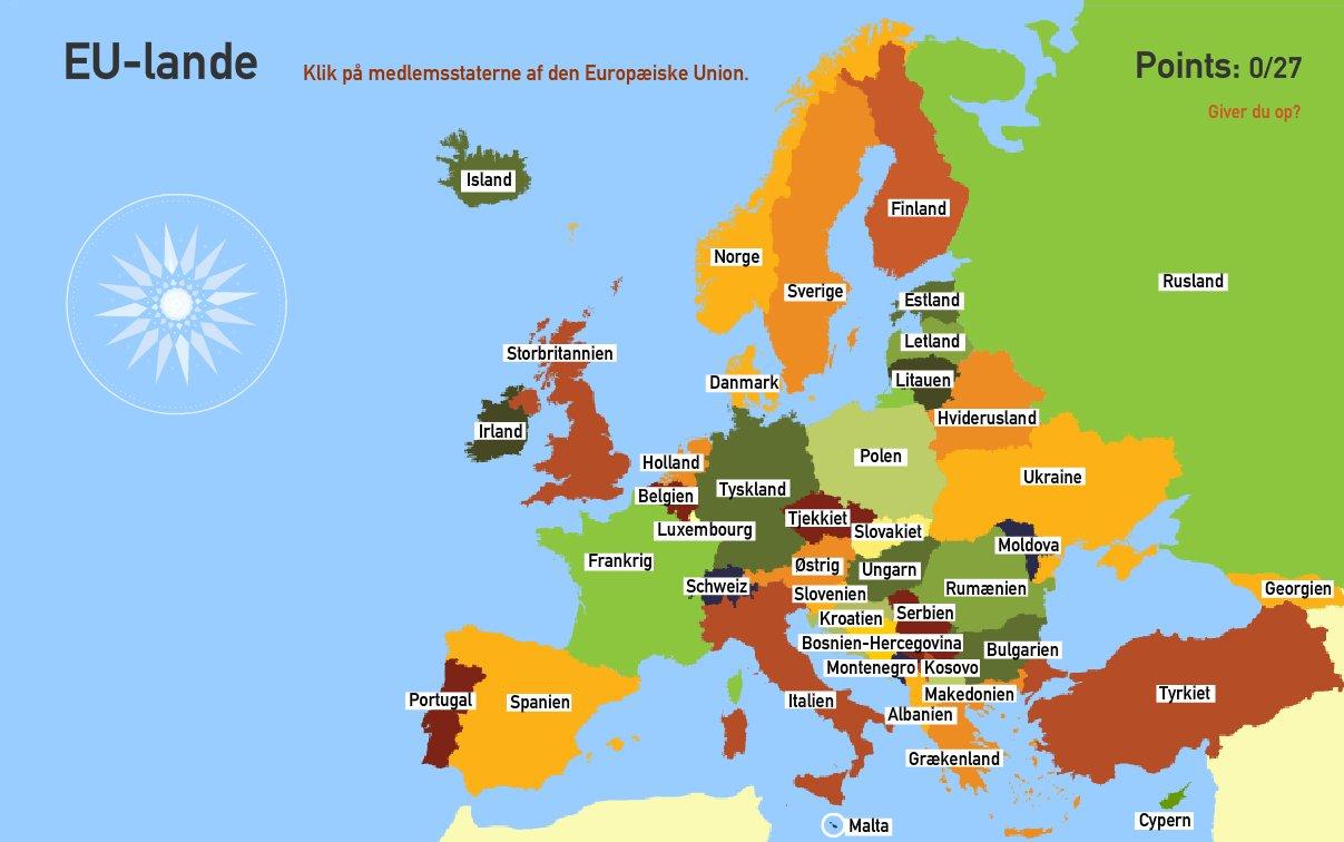 EU-lande. Toporopa