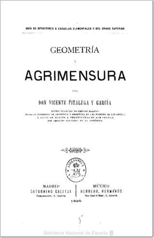 Geometría y agrimensura