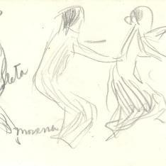 Tres niñas, Valencia