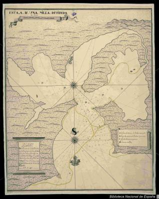 Plano del Puerto de Cabaña