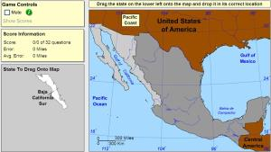 States of Mexico. Advanced Beginner. Sheppard Software