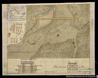 Plano departe del Lugar dela Antigua