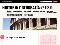 Historia y Geografía de 2º ESO