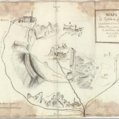 Mapa del Castillo de Locubin