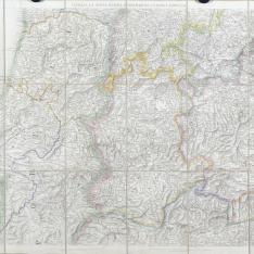 Mapa Civil y Militar de España y Portugal