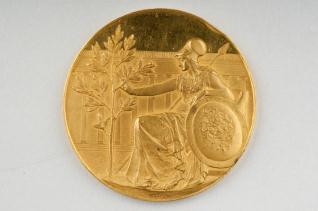 Primera Medalla de la Exposición Internacional de Munich 1897