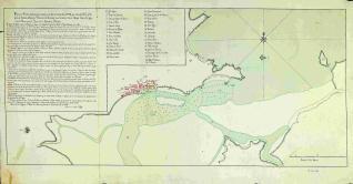 Plano del Puerto de Santander