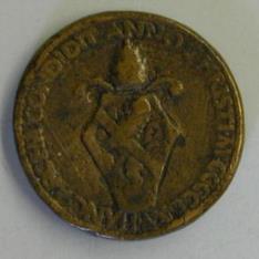 Medalla del papa Paulo II