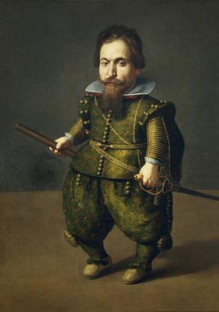 Retrato de enano