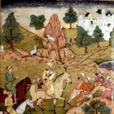 Cacería del Emperador Humayun