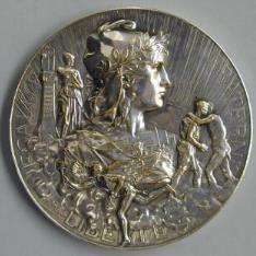 Medalla conmemorativa de la Exposición Internacional de París de 1899