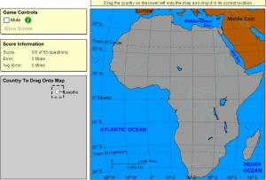Countries of Africa. Expert Plus. Sheppard Software