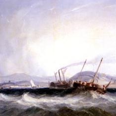 """El viaje del barco a vapor """"""""Fulton"""""""""""